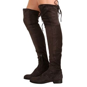 Dolce vita over the knee suede Neely boots